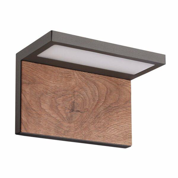 Lucande Lignus -LED-ulkoseinävalaisin