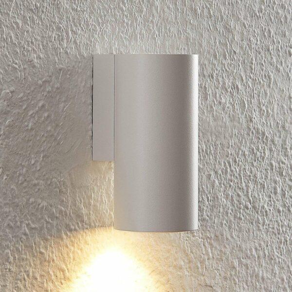 Arcchio Dilana -seinävalo, pyöreä, 1-lamp., valk.