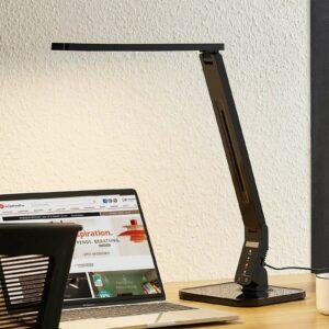 Arcchio Lianel -LED-työpöytävalaisin, musta