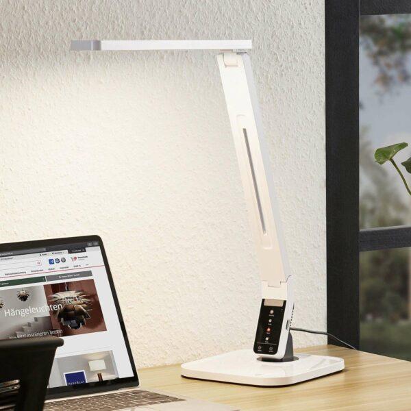Arcchio Lianel -LED-työpöytävalaisin, valkoinen