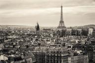 Canvas-taulu Pariisi ja Eiffel-torni MV 1113