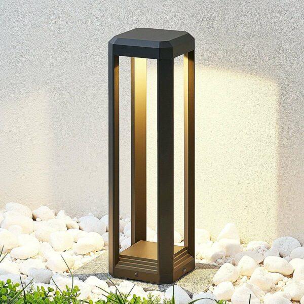 LED-pollarivalaisin Fery, antrasiitti, 50 cm