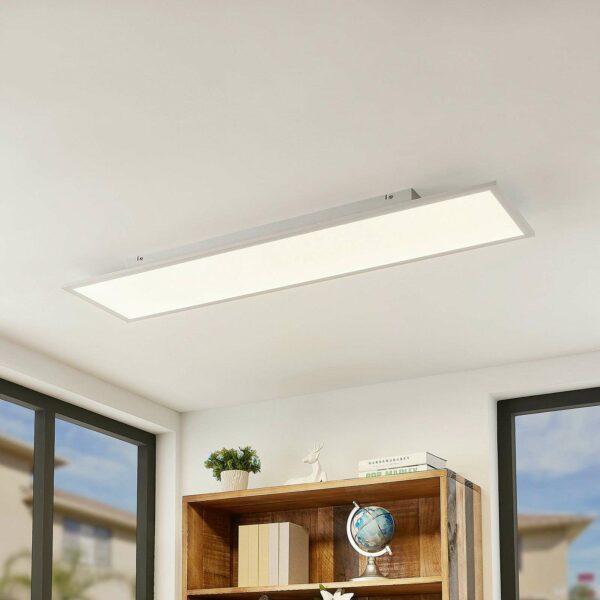 Lindby Quais -LED-paneeli 4 000 K, 30 x 120 cm