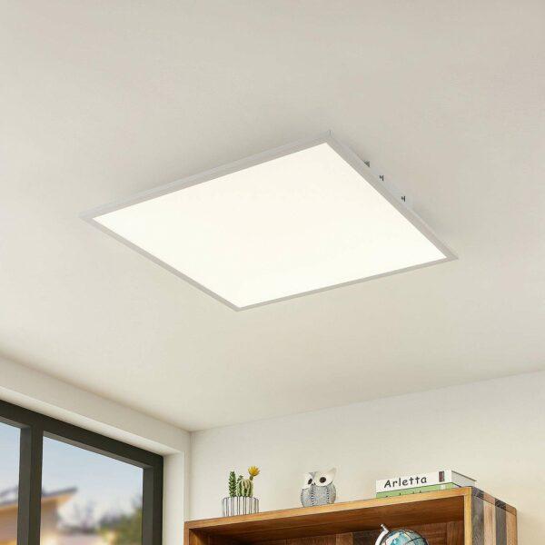 Lindby Quais -LED-paneeli 4 000 K, 60 x 60 cm