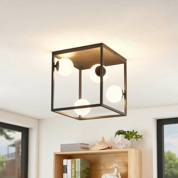 Lindby Utopia -LED-kattovalaisin, 4-lamppuinen