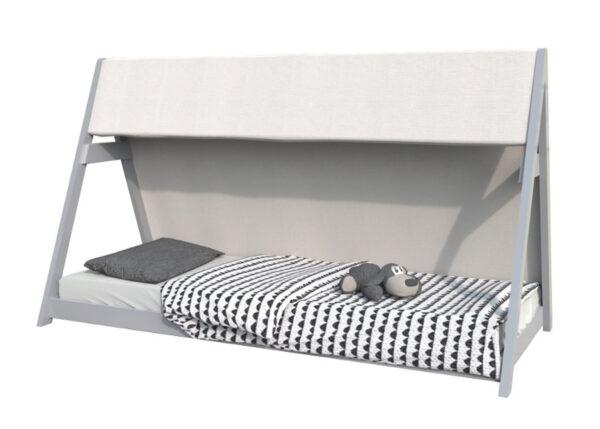 Sänky Tiipii 90x200 cm harmaa
