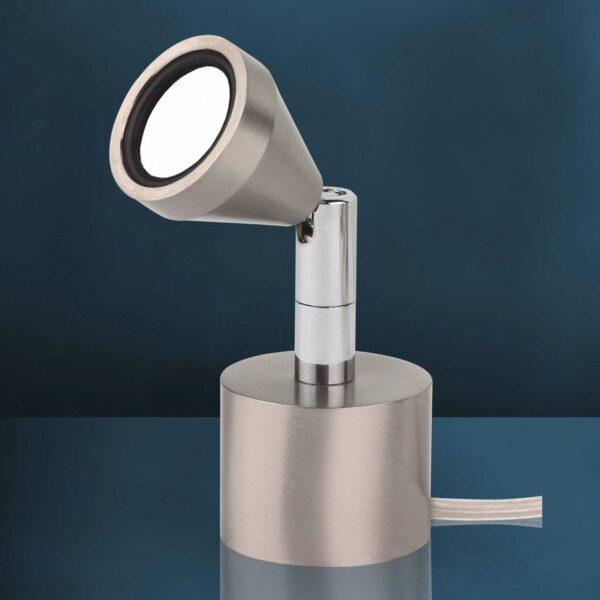 Kääntyvä MINI-LED-pöytävalaisin, lämmin valkoinen