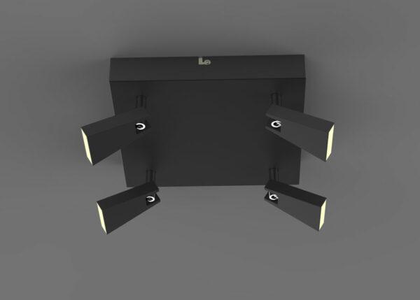 Kattovalaisin SPAZIO BLACK LED