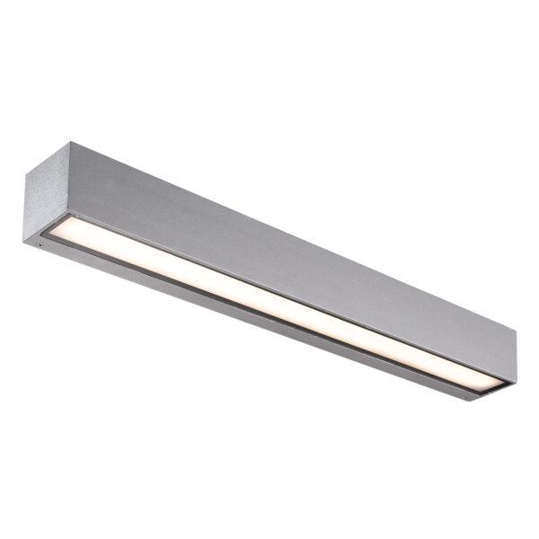 Lucande Lengo -LED-ulkoseinälamppu, Up Down, 50 cm