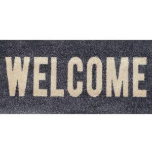 Ovimatto Welcome graphite 30x70 cm