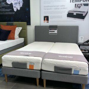 Hyvinkään myymälämalli, TEMPUR Move säätösänky, ETUSI 1254€
