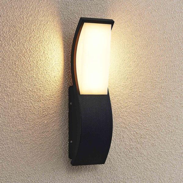 Lucande Maca -LED-ulkoseinävalaisin