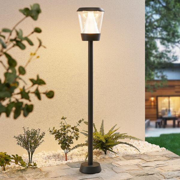 Lucande Tiany -LED-pylväsvalaisin, 100 cm