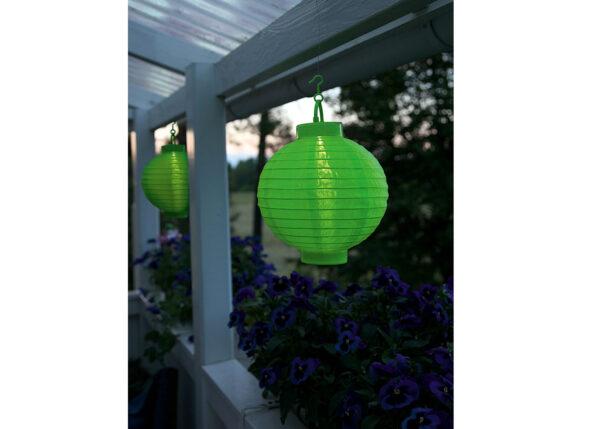 Puutarhavalaisin aurinkopaneelilla RICE BALL LED