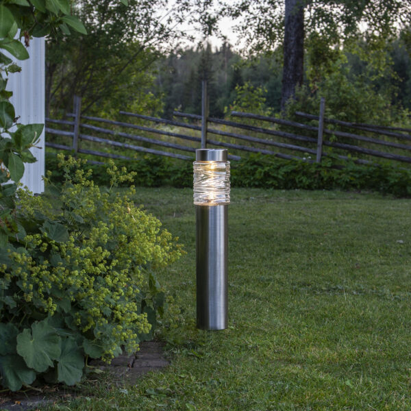 Aurinkokäyttöinen Capri-LED-pollarivalaisin