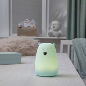 Big Bear -LED-pöytälamppu, yövalo, värin vaihto