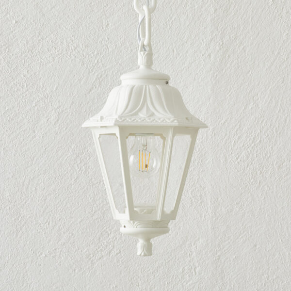 LED-riippuvalo Sichem Anna 6W valkoinen/kirkas