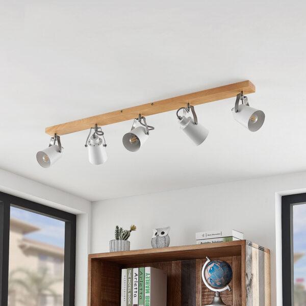 Lindby Blana -kattovalaisin, viisilamppuinen