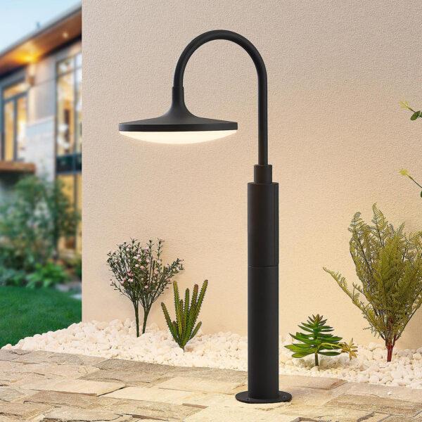 Arcchio Fineria -LED-pollarivalaisin alumiinia