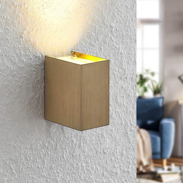 Arcchio Maruba -seinälamppu 1-lamppuinen ruskea