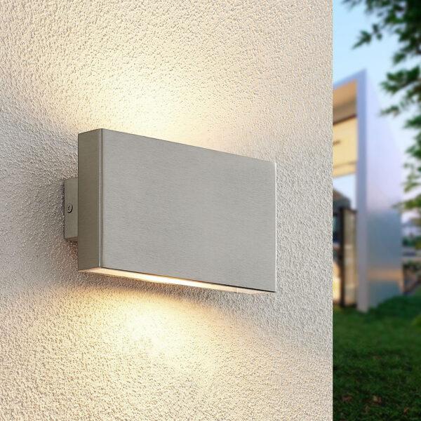 Arcchio Ploski -2-lamppuinen 18 cm teräs