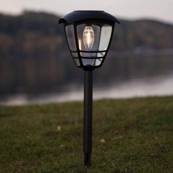 Aurinkokäyttöinen Felix-LED-valaisin