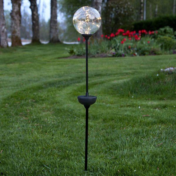 Aurinkokäyttöinen Glory-LED-valaisin maapiikillä