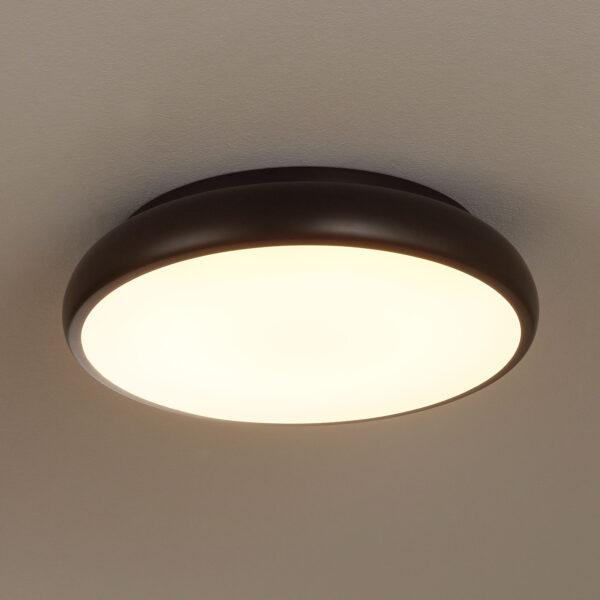 EGLO connect Riodeva-C -LED-kattovalaisin, musta