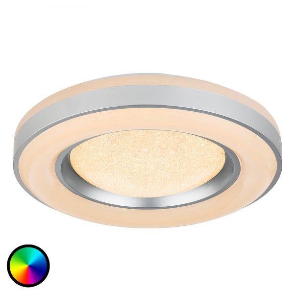 Kaukosäätimellä ohjattava LED-kattovalaisin Colla
