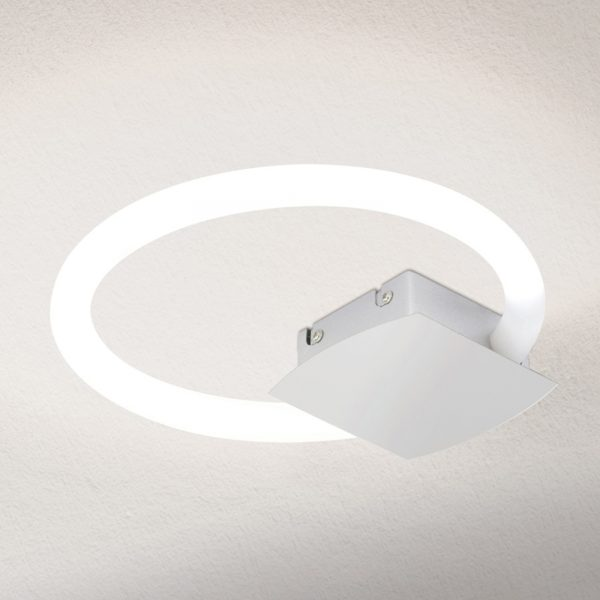LED-kattovalaisin Karlsson, pyöreä, 26 cm