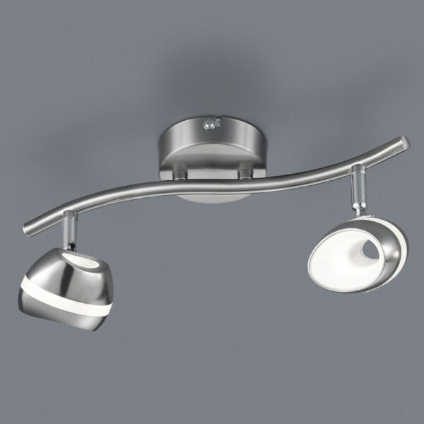 LED-kattovalaisin Shark 2-lamppuinen
