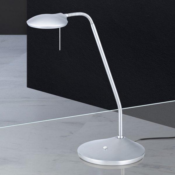 LED-pöytälamppu Cobra säädettävällä valovärillä