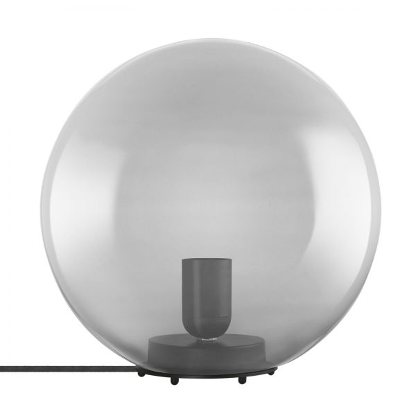 LEDVANCE Vintage 1906 -pöytälamppu Bubble, harmaa