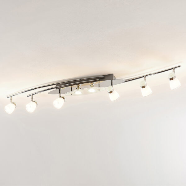 Lindby Danil LED -kattovalaisin, lasivarjostimet