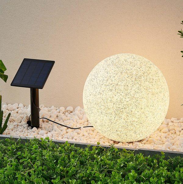 Lindby Hamela -LED-aurinkokoristevalo, RGB, 30 cm
