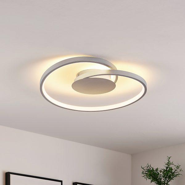Lucande Enesa -LED-kattovalaisin, pyöreä