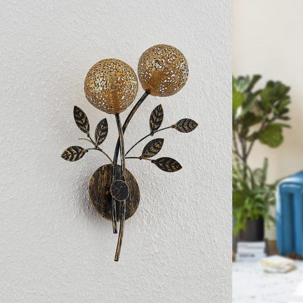 Lucande Evory -seinävalaisin, kaksilamppuinen