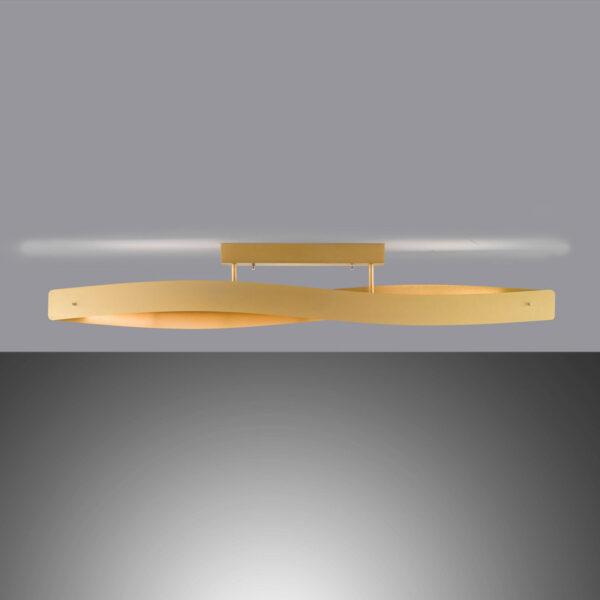 Lucande Lian LED-kattovalaisin, matta messinki