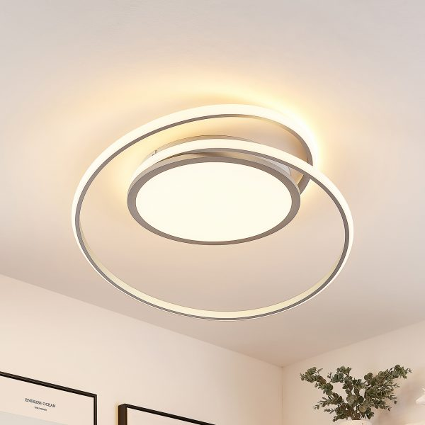 Lucande Noud -LED-kattovalaisin, CCT