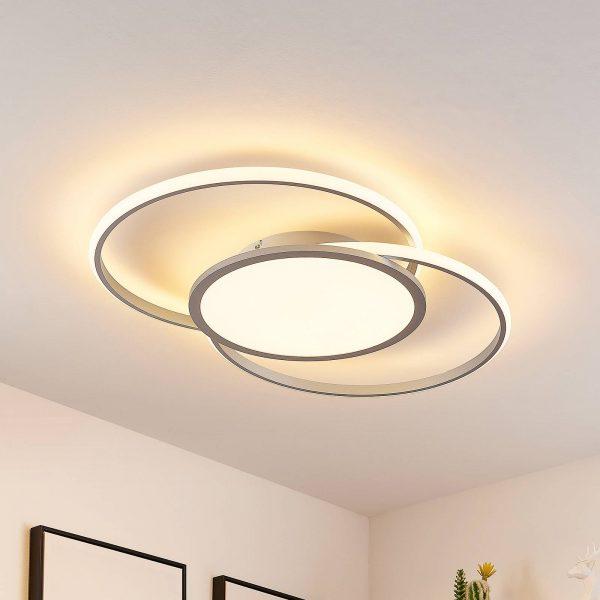 Lucande Senne -LED-kattovalaisin, CCT