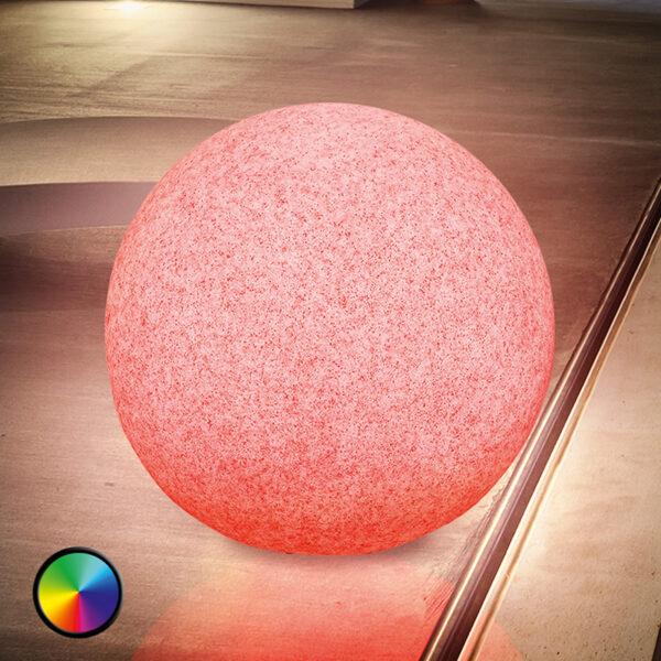 Mega Stone 50 - LED-pallovalaisin aurinkokennolla