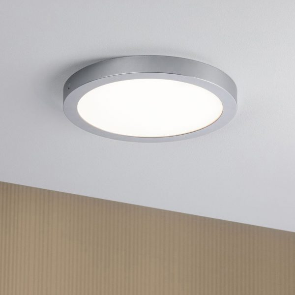 Paulmann Abia -LED-kattovalaisin Ø 30 cm kromi