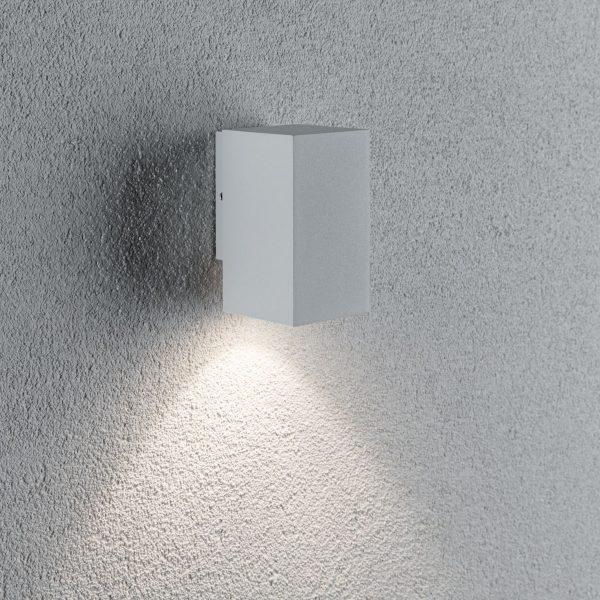 Paulmann Flame 1-lamppuinen 10,3cm valkoinen