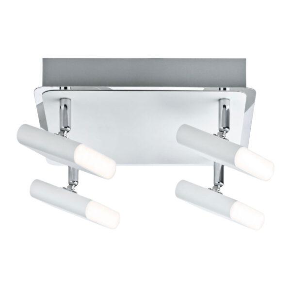 Paulmann Launcher -LED-kattovalaisin 4-lamppuinen