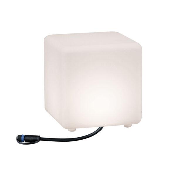 Paulmann Plug & Shine -LED-koristevalo Cube 20 cm