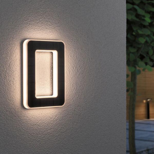 Paulmann aurinkokäyttöinen LED-talonnumero 0