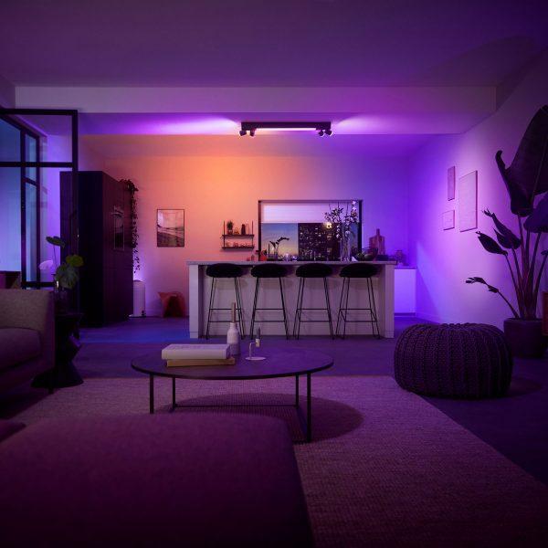 Philips Hue Centris -kattospotti 4-lamppuinen